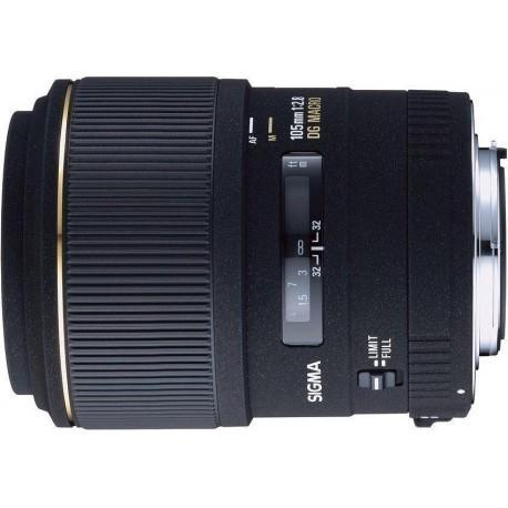 Sigma AF 105mm f/2.8 EX DG Macro objektiiv Canonile