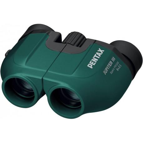 Pentax binoculars Jupiter III 8x21 green