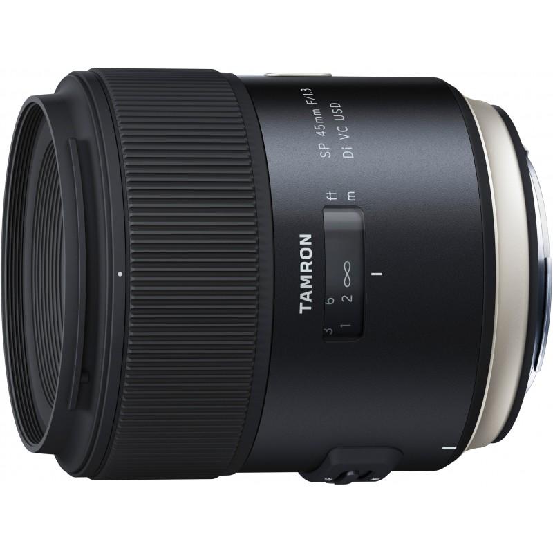 Tamron SP 45mm f/1.8 Di VC USD objektiiv Canonile