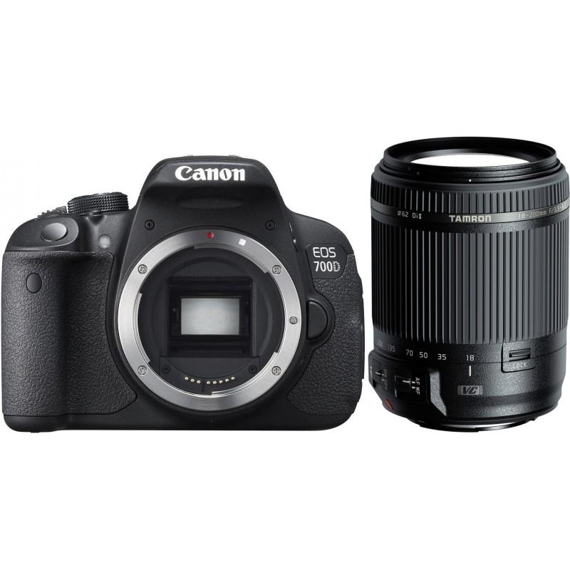 Canon EOS 700D + Tamron 18-200mm VC