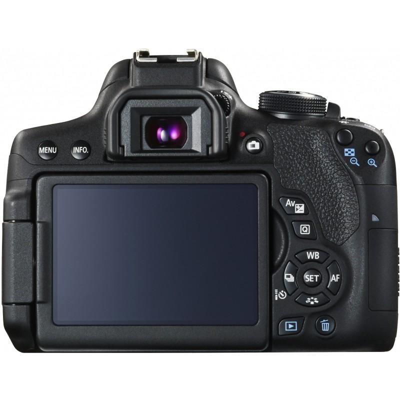 Canon EOS 750D + Tamron 18-200mm VC