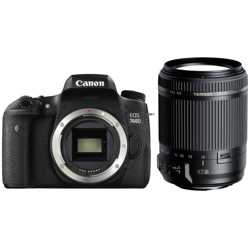 Canon EOS 760D + Tamron 18-200mm VC