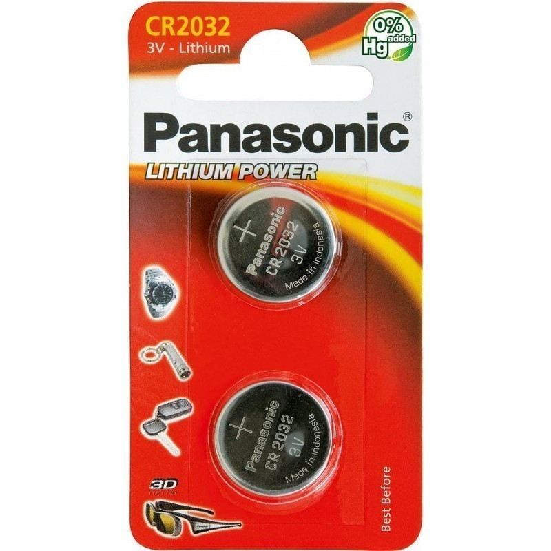 Panasonic baterija CR2032/2B