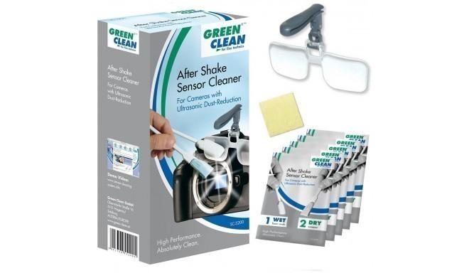 Green Clean комплект для чистки сенсора After Shake (SC-5200)
