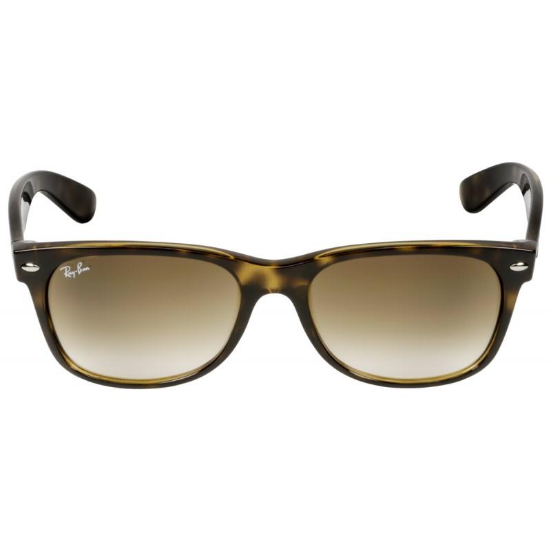 ef8847175 RayBan New Wayfarer RB2132 710/51 55 light havana/brown - Sunglasses ...