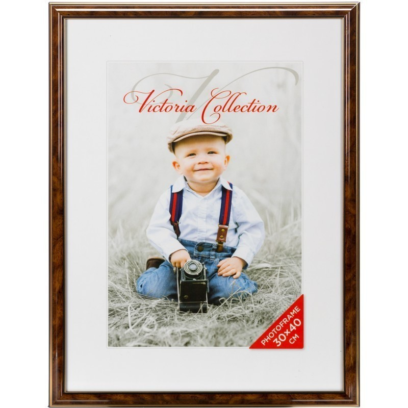 Photo frame Lord 30x40, brown - Photo frames - Photopoint