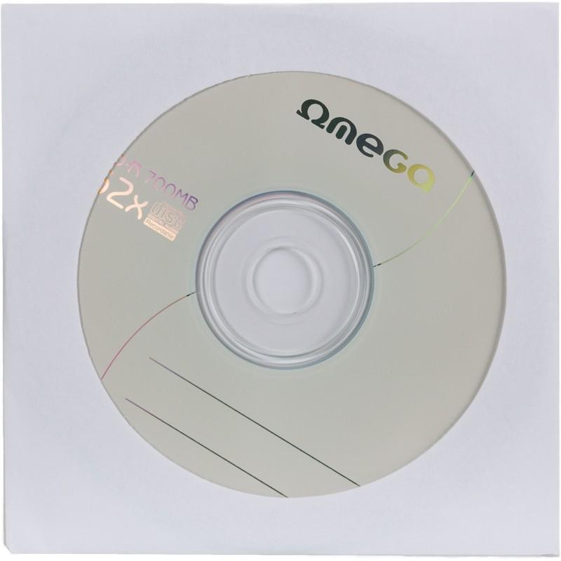 Omega CD-R 700MB 52x aploksne