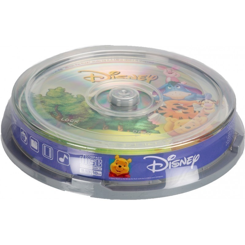 Disney CD-R 700MB 52x The Pooh 10tk tornis