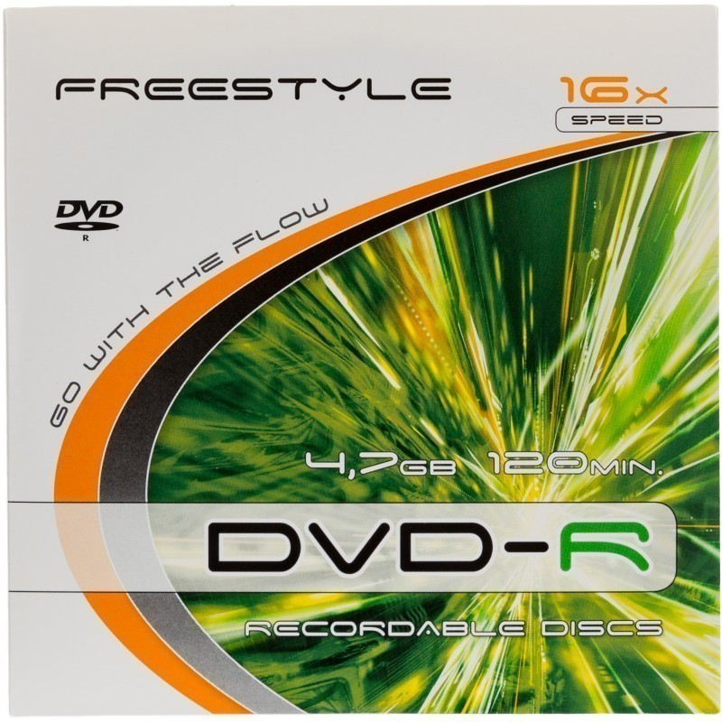 Omega Freestyle DVD-R 4,7GB 16x safepack