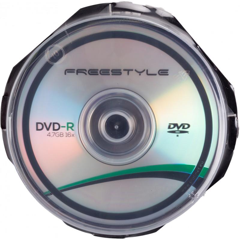 Omega Freestyle DVD-R 4,7GB 16x 10tk tornis