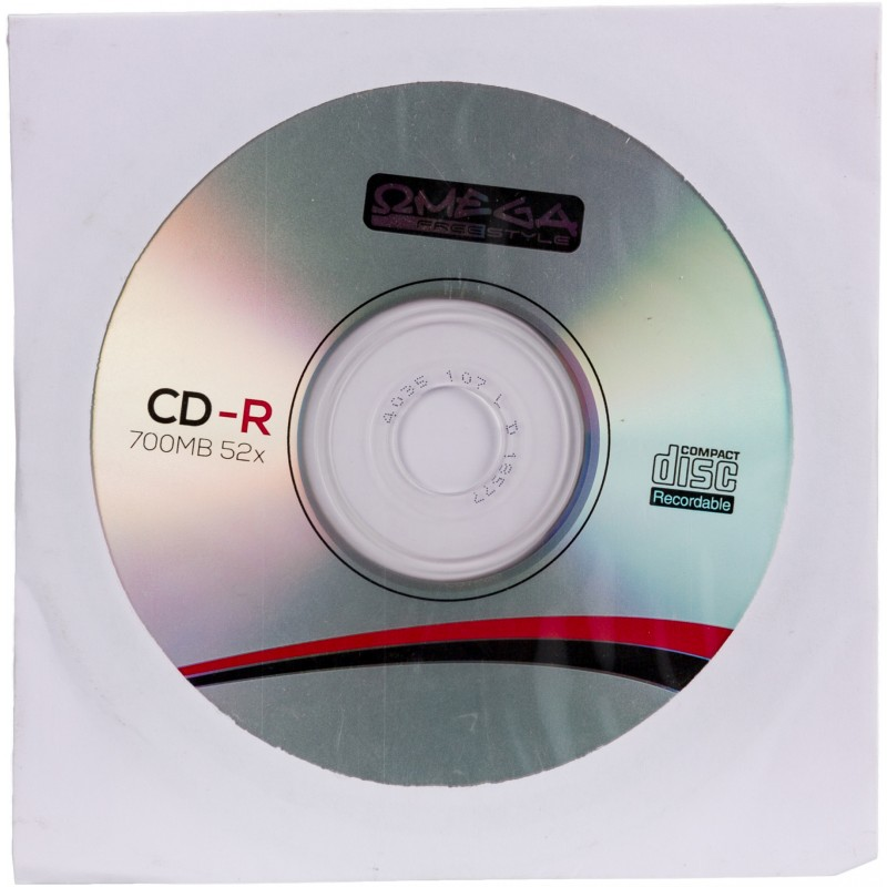 Omega Freestyle CD-R 700MB 52x aploksne