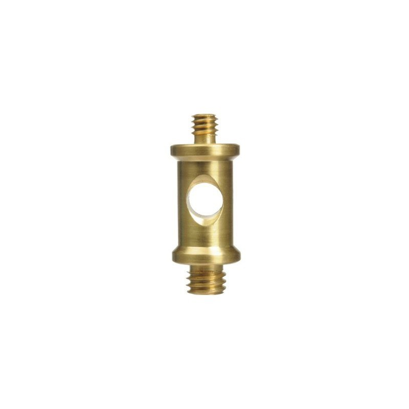 """Manfrotto adapter Spigot lühike 1/4"""" - 3/8"""" (118)"""
