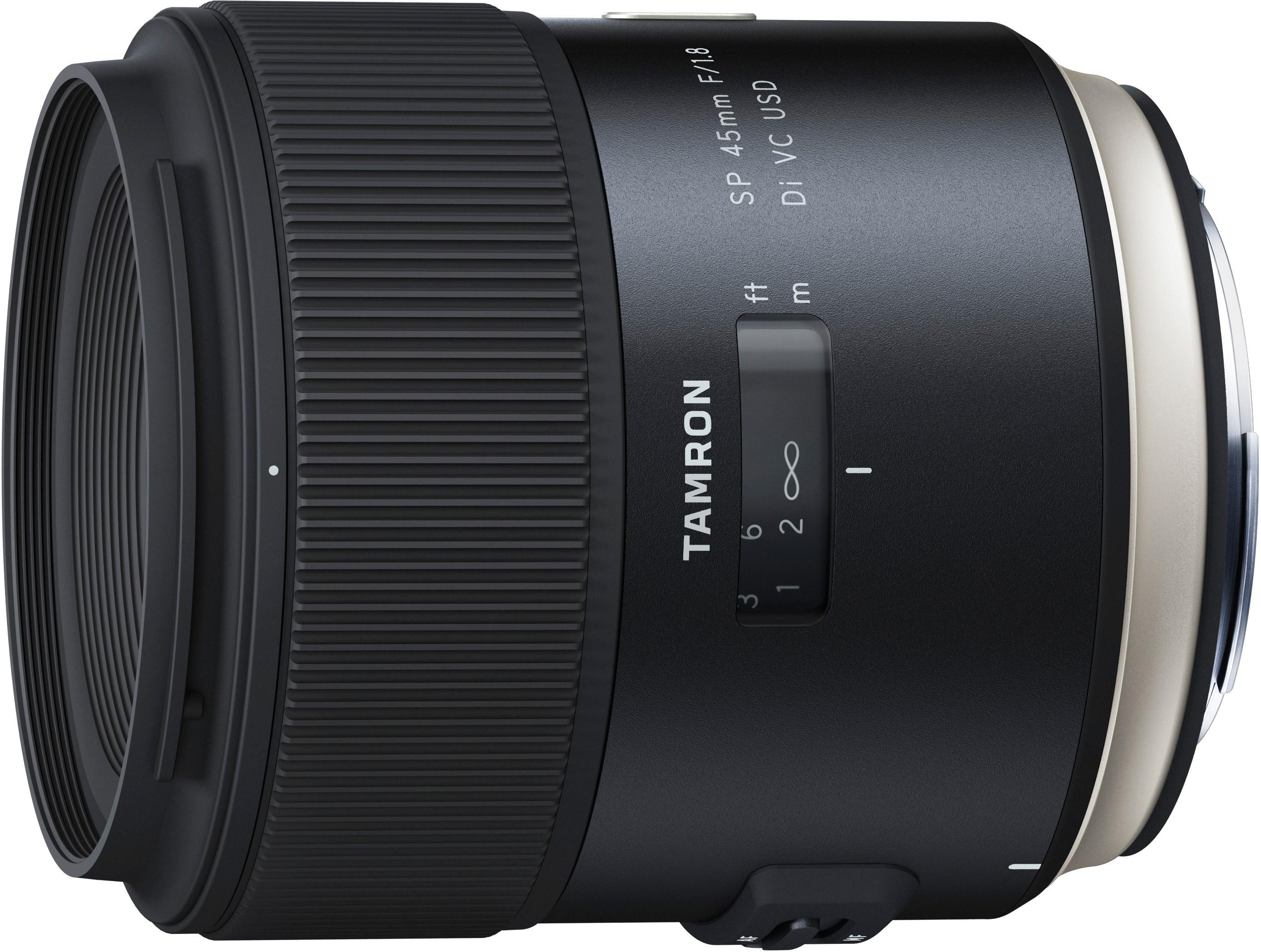Tamron SP 45mm f/1.8 Di VC USD objektiiv..