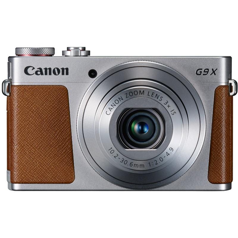 Canon PowerShot G9 X, hõbedane/pruun