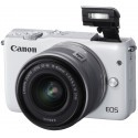 Canon EOS M10 + 15-45mm IS STM Kit, valge