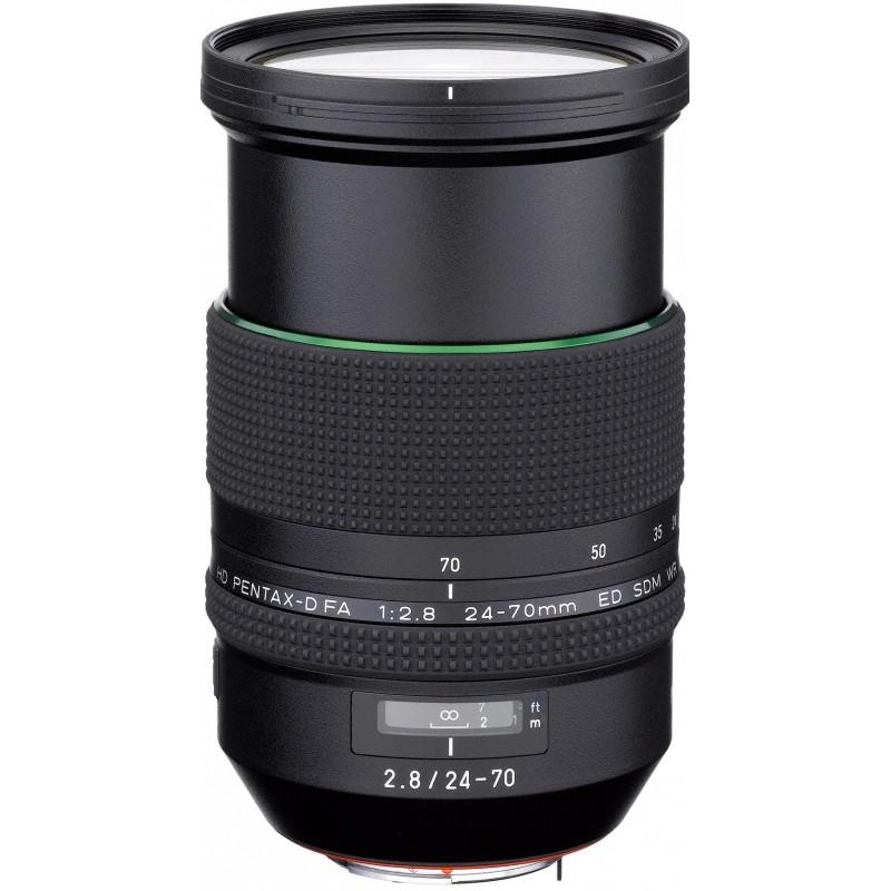 HD Pentax D-FA 24-70mm f/2.8 ED SDM WR objektiiv