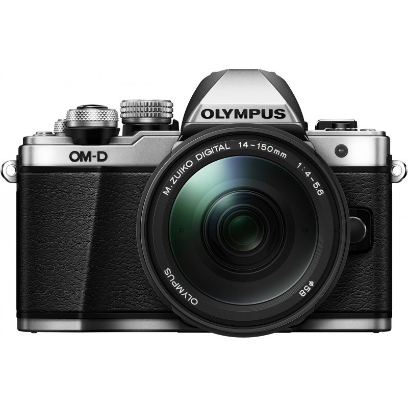 Olympus OM-D E-M10 Mark II + 14-150mm Kit, hõbedane/must