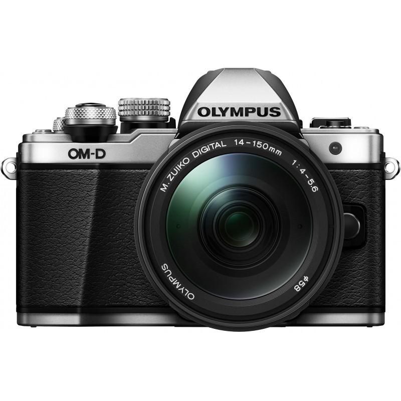 Olympus OM-D E-M10 Mark II + 14-150мм Kit, серебристый/черный