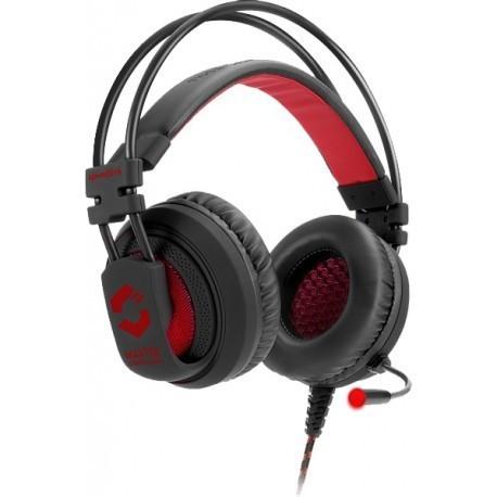 Speedlink austiņas + mikrofons Maxter, melnas (SL-860002-BK)