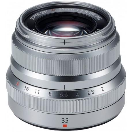 Fujinon XF 35mm f/2 R WR, sudrabots