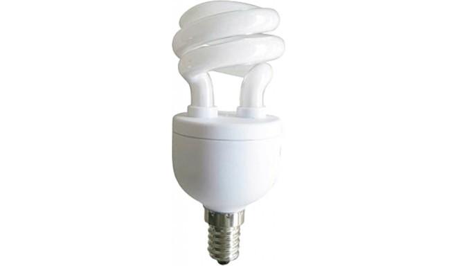 Panasonic enerģiju taupošā spuldze E14 5W 2700K Spiral (EFD5E27HDE14E)