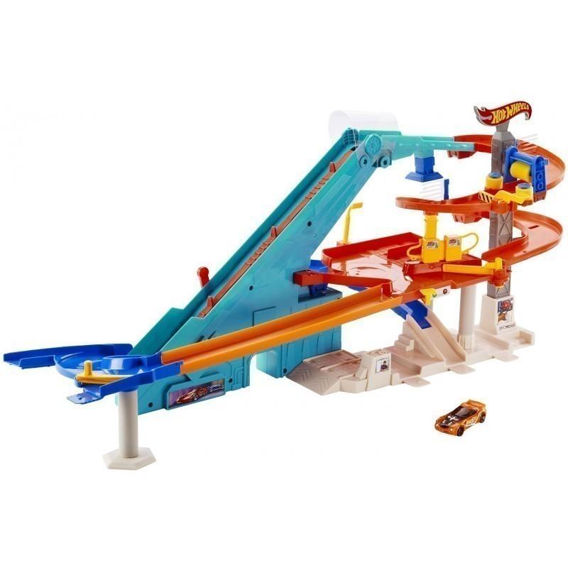 169b5a1640e Hot Wheels mängukomplekt Mega Garaaž - Sõidurajad ja tarvikud ...