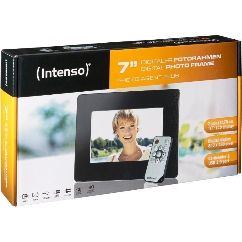 Intenso digital photo frame Photoagent Plus 7""