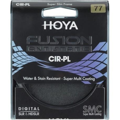 Hoya cirkulārais polarizācijas filtrs Fusion Antistatic 77mm