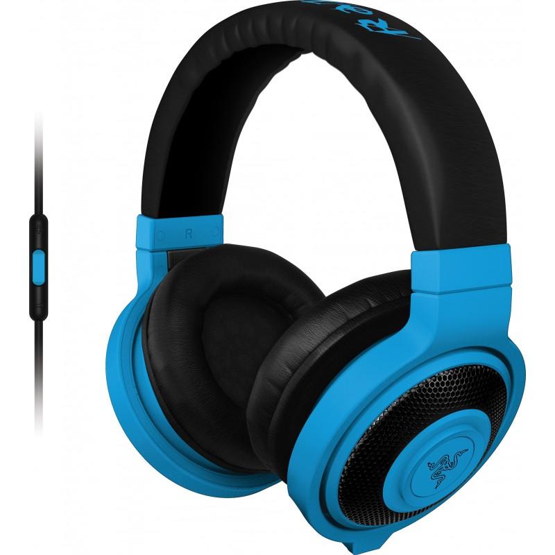 Razer kõrvaklapid + mikrofon Kraken Mobile, sinine