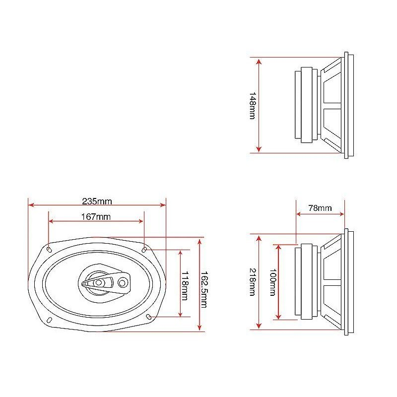 wiring 6 speakers to 4 channel diagrams