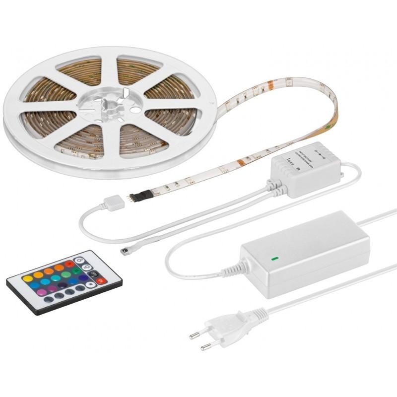 beb7539dfac RGB LED riba 5.0m, 1.5m kaabliga, IP44, 300 LED´i, erinevad värvid ...