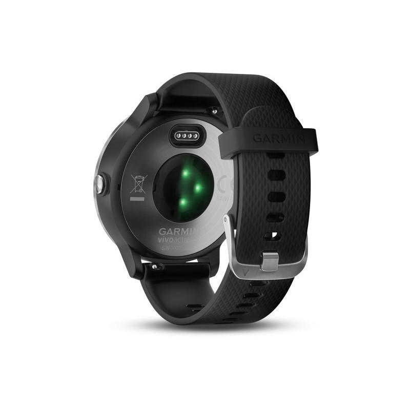Garmin Vivoactive 3 GPS, must/hõbe