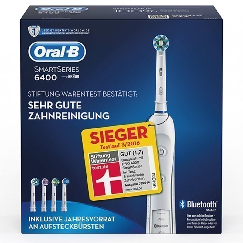 BRAUN .Oral-B Pro 6400 elek. Premium dantų šepetėlis su Bluetooth + SmartGuide