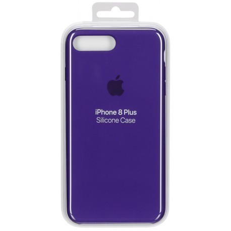 best service d72f1 7ce80 Apple iPhone 8 Plus / 7 Plus Silicone Case Ultra Violet - Smartphone cases  - Photopoint