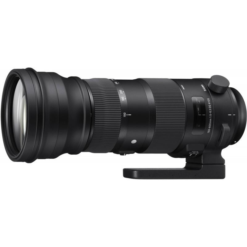 Sigma 150-600mm f/5-6.3 DG OS HSM Sports objektiiv Nikonile
