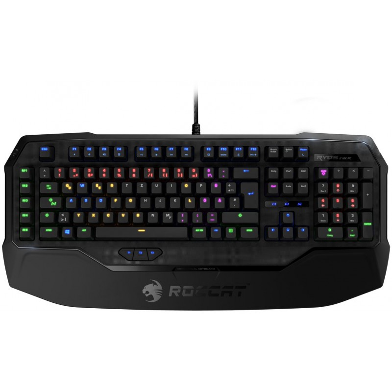 Roccat клавиатура Ryos MK FX, Cherry MX Brown, Nordic (ROC-12-874-BN)
