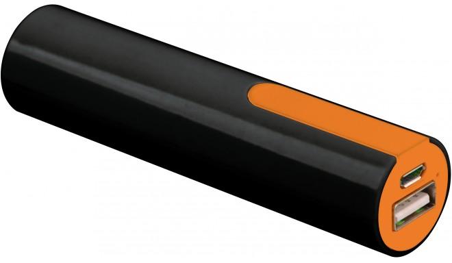 Platinet power bank 2000mAh + кабель, оранжевый (PMPB20BO)