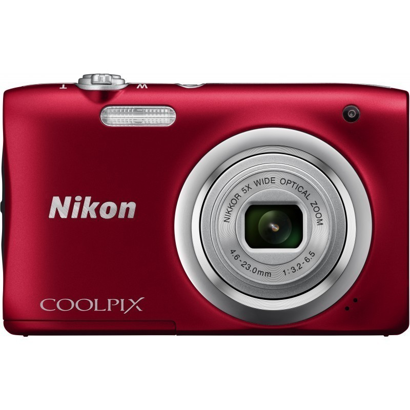 Nikon Coolpix A100, red