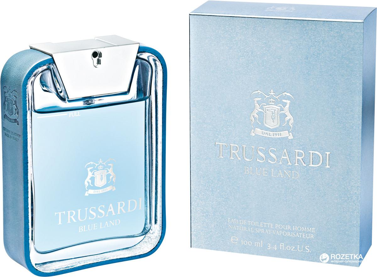 Trussardi Blue Land Pour Homme Eau de Toilette 10..