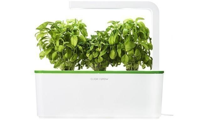 Click & Grow Smart Herb Garden, rohelise kaanega