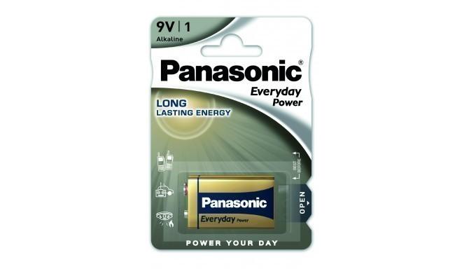Panasonic Everyday Power battery 6LR61EPS/1B 9V