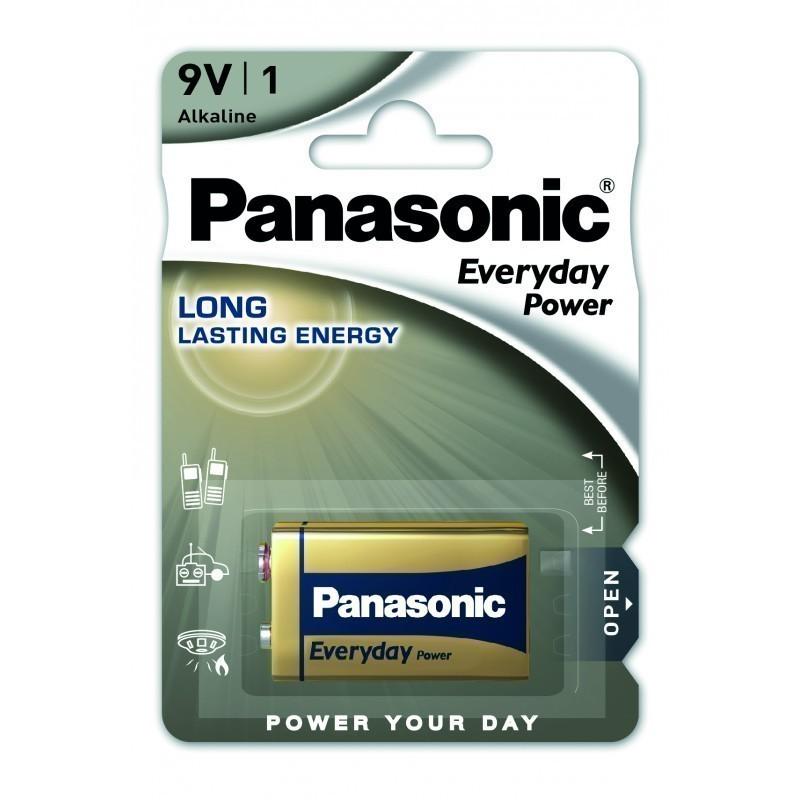 Panasonic patarei 6LR61EPS/1B 9V