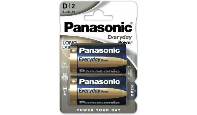 Panasonic Everyday Power baterija LR20EPS/2B