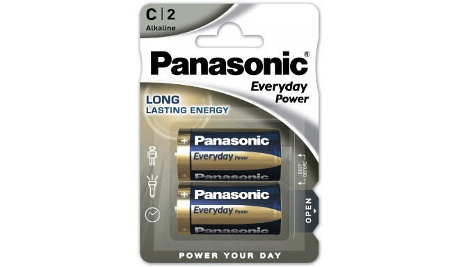Panasonic Everyday Power battery LR14EPS/2B