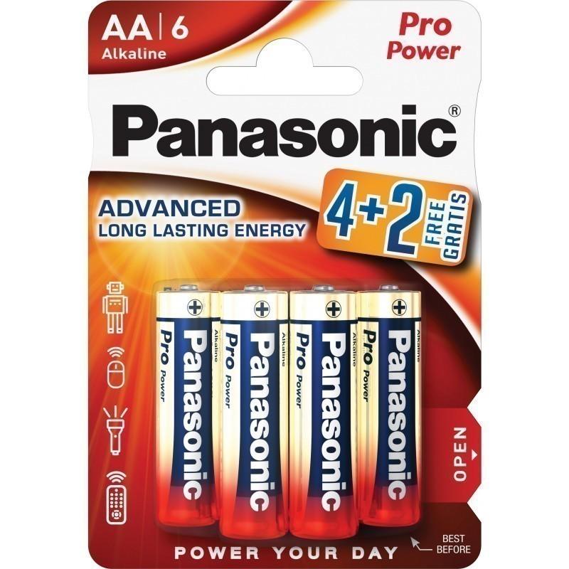 Panasonic patarei LR6PPG/6B (4+2 tk)