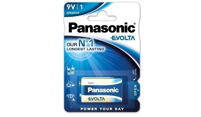 Panasonic Evolta baterija 6LR61EGE/1B 9V