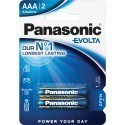 Panasonic baterija LR03EGE/2B
