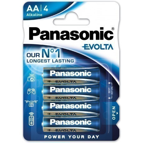 Panasonic Evolta patarei LR6EGE/4B