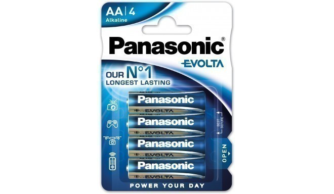 Panasonic Evolta батарейки LR6EGE/4B