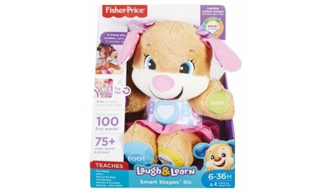 Fisher-Price interactive toy First Words Puppy Sister